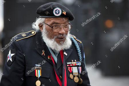 Stephen Hopkins Korean War veteran and prisoner of war of war Stephen Hopkins stands ahead of a ceremony on Veterans Day, in Philadelphia