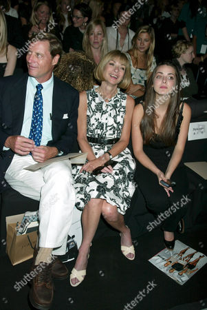 J. Shelby Bryan, Anna Wintour and daughter Bee Shaffer