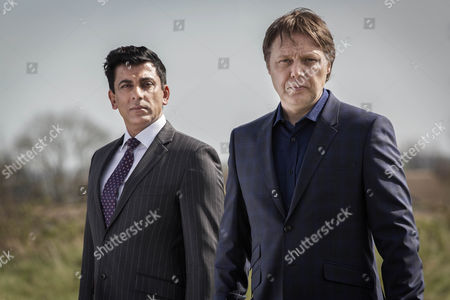 Stock Picture of Malik Nadir - Ace Bhatti] and Steve Richards - Shaun Dooley