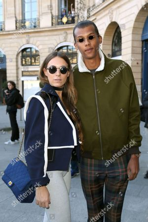 Stromae and girlfriend