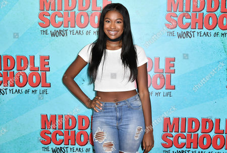 Editorial photo of 'Middle School: The Worst Years of My Life' premiere, Arrivals, Los Angeles, USA - 05 Oct 2016