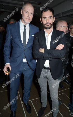 Stock Photo of Jean-David Malat and Jean-Bernard Fernandez-Versini