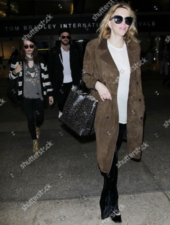 Editorial photo of Courtney Love and Frances Bean Cobain at LAX International Airport, Los Angeles, USA - 05 Oct 2016