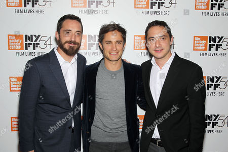 Gael Garcia Bernal, Pablo Larrain (Director), Juan de Dios Larrain (Producer)