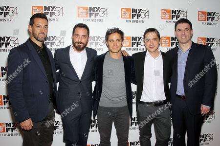 Ben Navin (CEO The Orchard), Pablo Larrain (Director), Gael Garcia Bernal, Juan de Dios Larrain (Producer), Paul Davidson (Ben Navin, Paul Davidson (EVP Film, TV The Orchard)