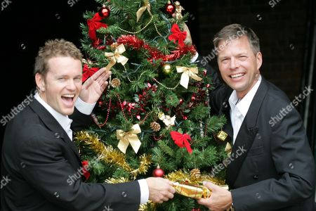 Craig McLachlan and Tim Flavin star in White Christmas The Musical at The Mayflower Theatre in Southampton. The musical is a remake of the 1954 film which starred Bing Crosby and Danny Kaye.
