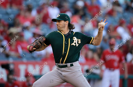 Barry Zito Oakland Athletics starting pitcher Barry Zito throws against the Los Angeles Angels during the second inning of a baseball game, in Anaheim, Calif