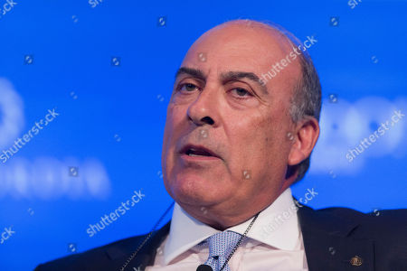 Muhtar Kent, Chairman and CEO of Coca-Cola, speaks at The Concordia Summit, in New York