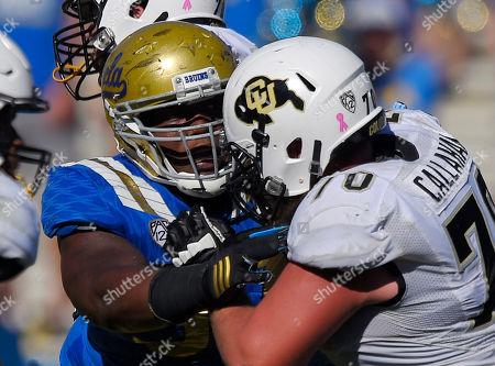 Editorial picture of Colorado UCLA Football, Pasadena, USA