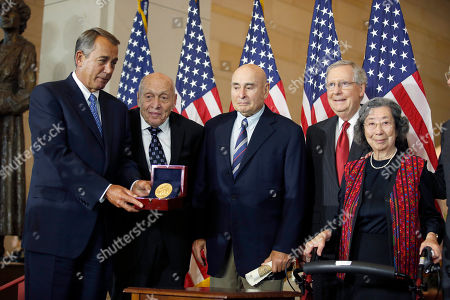 Editorial photo of Congressional Gold Medal, Washington, USA