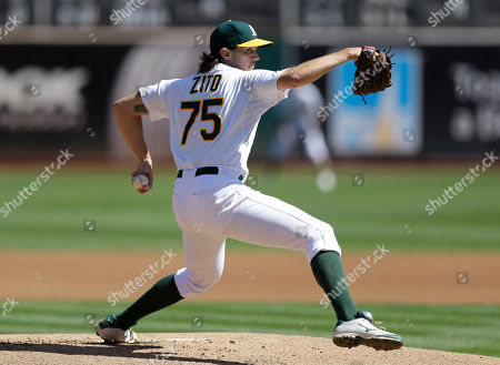 Barry Zito Oakland Athletics pitcher Barry Zito works against the San Francisco Giants in the first inning of a baseball game, in Oakland, Calif