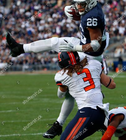 Editorial picture of Illinois Penn St Football, State College, USA