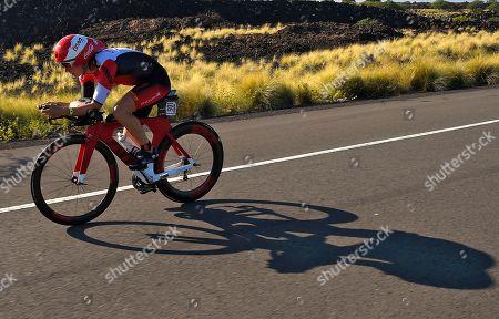 Rachel Joyce Rachel Joyce, of Britain, rides during the cycling portion of the Ironman World Championship Triathlon, in Kailua-Kona, Hawaii