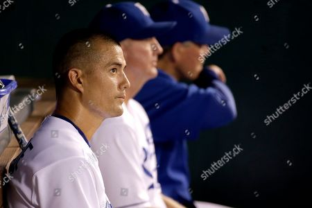 Jeremy Guthrie Kansas City Royals starting pitcher Jeremy Guthrie sits in the dugout after coming out during the third inning of a baseball game after giving up nine runs to the Seattle Mariners, in Kansas City, Mo