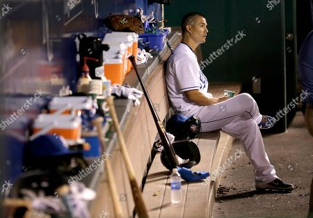 Jeremy Guthrie Kansas City Royals starting pitcher Jeremy Guthrie sits in the dugout after coming out of the game during the third inning after giving up nine runs to the Seattle Mariners, in Kansas City, Mo