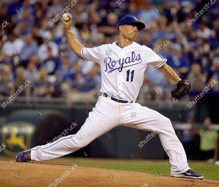 Jeremy Guthrie Kansas City Royals starting pitcher Jeremy Guthrie throws during the first inning of a baseball game against the Seattle Mariners, in Kansas City, Mo