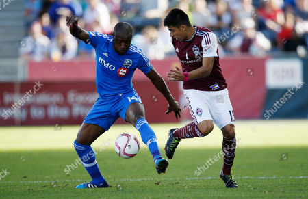 Editorial image of MLS Impact Rapids Soccer, Commerce City, USA