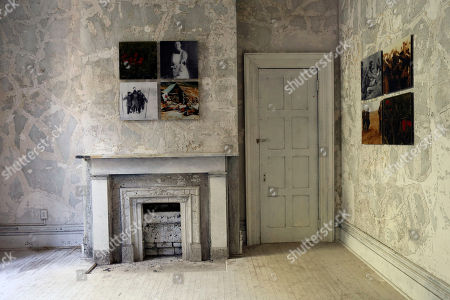 Editorial picture of Old Naval Hospital Art Installation, New York, USA
