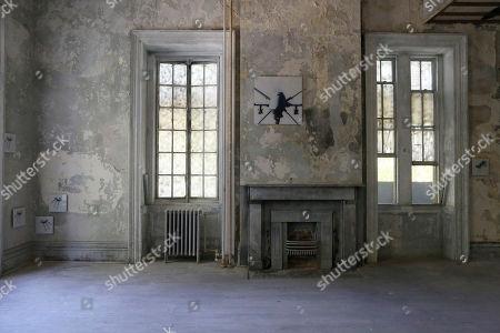 Editorial photo of Old Naval Hospital Art Installation, New York, USA