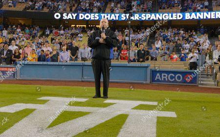 Editorial photo of Pirates Dodgers Baseball, Los Angeles, USA
