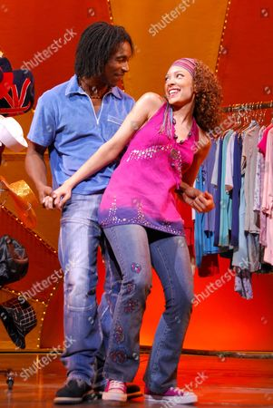 Editorial picture of 'Daddy Cool' musical, featuring songs of Boney M, Shaftesbury Theatre, London - 14 Sep 2006