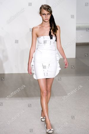 Editorial photo of Miss Sixty show for spring / summer 2007, Olympus Fashion Week, New York, America - 07 Sep 2006
