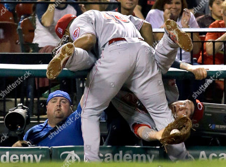 Editorial image of Reds Cardinals Baseball, St. Louis, USA
