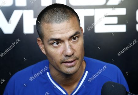 Jeremy Guthrie Kansas City Royals pitcher Jeremy Guthrie, talks about growing up in Roseburg, Ore., where a gunman opened fire on students at Umpqua Community College near Roseburg today, before a baseball game between the Chicago White Sox and the Royals, in Chicago