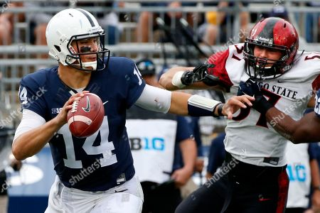 Editorial picture of San Diego St Penn St Football, State College, USA