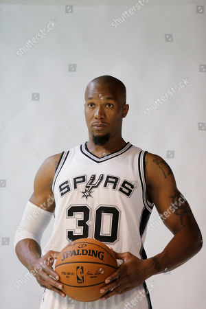 David West San Antonio Spurs' David West (30) poses for photos during media day at the team's practice facility, in San Antonio