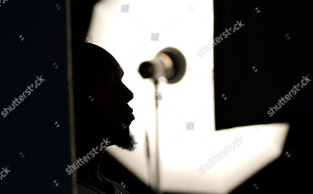David West San Antonio Spurs' David West (30) is silhouetted as he poses for photos during media day at the team's facility, in San Antonio