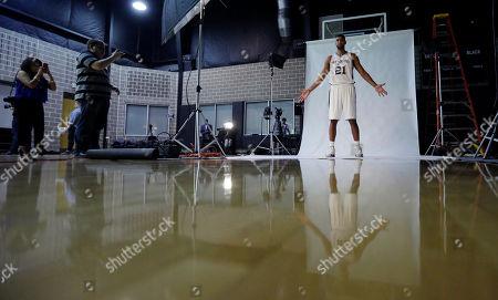 Editorial photo of Spurs Media Day Basketball, San Antonio, USA
