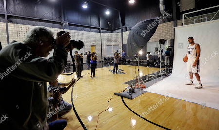 Editorial picture of Spurs Media Day Basketball, San Antonio, USA