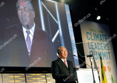 Xie Zhenhua Xie Zhenhua, Special Representative for Climate Change Affairs of China's National Development and Reform Commission, speaks during the White House-organized U.S. - China Climate Leaders Summit, in Los Angeles
