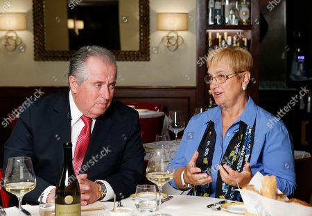 Angelo Vivolo, Lidia Bastianich Restaurateur Angelo Vivolo, left, joins Felidia owner Lidia Bastianich at Felidia in New York. The pair is preparing meals for Pope Francis during his 40 hours in Manhattan