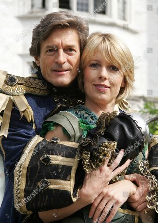 Nigel Havers stars as Captain Hook alongside Sophie Lawrence as Peter Pan.