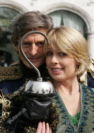 Nigel Havers stars as Captain Hook alongside Sophie Lawrence as Peter Pan