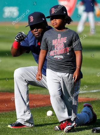 Editorial image of Boston Red Sox v Cleveland Indians, MLB baseball game, Cleveland, USA - 05 Oct 2016