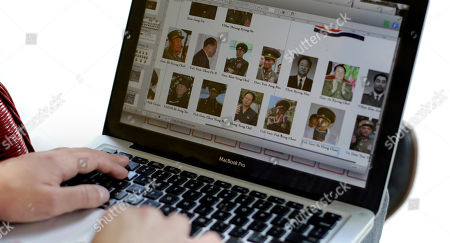 Stock Photo of Michael Madden Michael Madden works on his website, in Austin, Texas. Madden a largely self-taught analyst of North Korea with an encyclopedic knowledge of the government elite