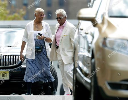 Dionne Warwick, Carolyn Whigham Singer Dionne Warwick, left, walks with Carolyn Whigham, right, to a service at Whigham funeral home for Bobbi Kristina Brown in Newark, N.J., early . Bobbi Kristina, the only child of Whitney Houston and R&B singer Bobby Brown, died in hospice care July 26, about six months after she was found face-down and unresponsive in a bathtub in her suburban Atlanta home