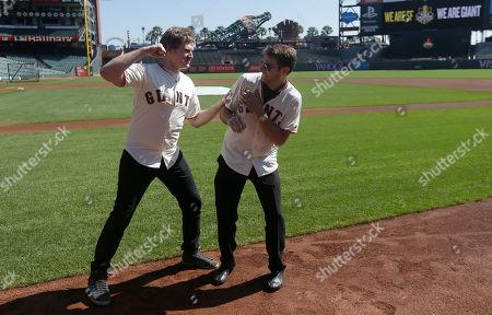 Editorial image of Cubs Giants Baseball, San Francisco, USA