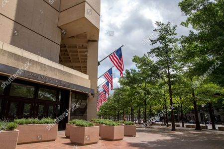 The J. Edgar Hoover Building, The Federal Bureau of Investigation headquarters, in Washington