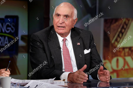"""Ken Langone Ken Langone, a co-founder of Home Depot, is interviewed by Maria Bartiromo during her """"Mornings with Maria"""" program, on the Fox Business Network, in New York"""