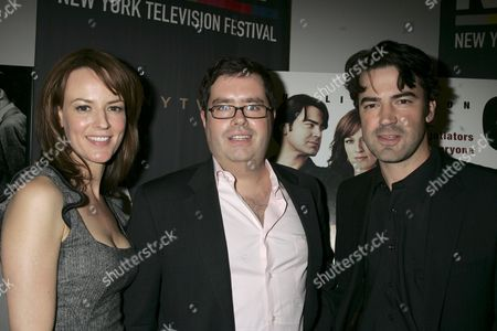 Rosemarie Dewit,Terence Gray and Ron Livingston