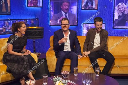 Darcy Bussell, Alan Carr and Jack Whitehall