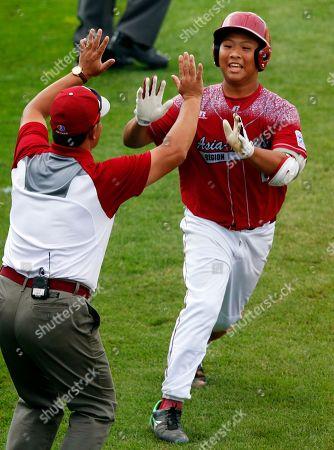 Editorial picture of LLWS Taiwan Canada Baseball, South Williamsport, USA