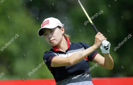 Sun Young Yoo Sun Young Yoo of South Korea drives on the 11th hole during the first round of the Meijer LPGA Classic golf tournament at Blythefield Country Club, in Belmont, Mich