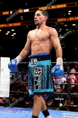Danny Garcia Danny Garcia is seen after his win against Paul Malignaggi during their welterweight fight at the Barclays Center in Brooklyn, on . Garcia won via TKO in Round 9