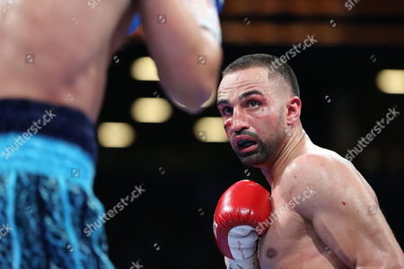 Paul Malignaggi Paul Malignaggi is seen in action against Danny Garcia during their welterweight fight at the Barclays Center in Brooklyn, on . Garcia won via TKO in Round 9
