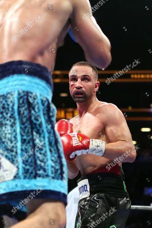 Paul Malignaggi Paul Malignaggi in action against Danny Garcia during their welterweight fight at the Barclays Center in Brooklyn, on . Garcia won via TKO in Round 9